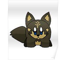 Wolf Hero Kirby Poster