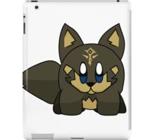 Wolf Hero Kirby iPad Case/Skin