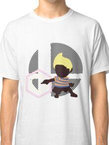 Lucas (Down Taunt, Blue/Orange) - Sunset Shores Classic T-Shirt