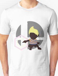 Lucas (Down Taunt, Blue/Orange) - Sunset Shores T-Shirt