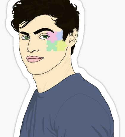 Matthew Daddario Sticker