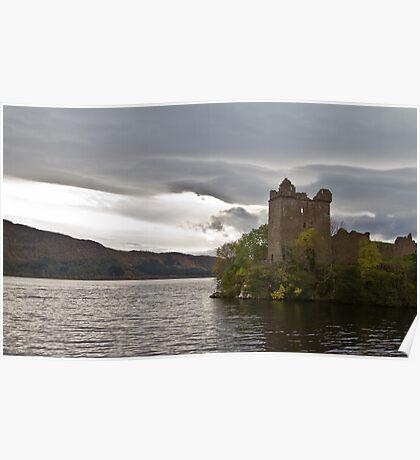 Urquhart Castle - Loch Ness Poster
