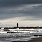Whitby, west bay by Dave Milnes