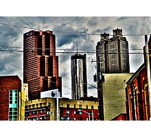Downtown Atlanta, Georgia - January, 2012 Photographic Print
