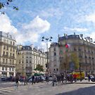 Paris Intersection by Tom  Reynen