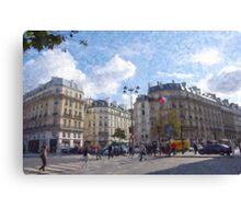 Paris Intersection Canvas Print