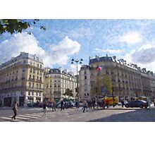 Paris Intersection Photographic Print