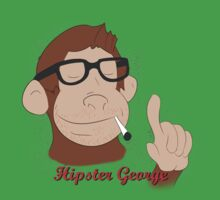 Hipster George Baby Tee