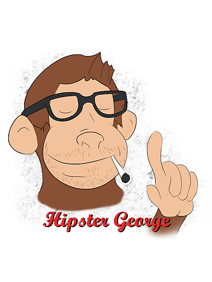 Hipster George by Fortunate Pessimist