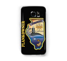 SSN-786 USS Illinois Plank Owner Crest for Dark Colors Samsung Galaxy Case/Skin