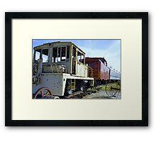 Train Yard Framed Print