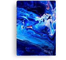 MEDITATION BLUE Canvas Print
