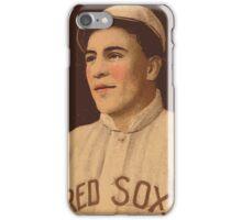 Benjamin K Edwards Collection Olaf Henriksen Boston Red Sox baseball card portrait iPhone Case/Skin