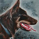 A Red Dog by Lynda Harris