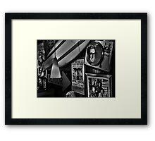 Rock around the clock Framed Print