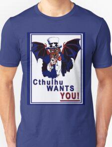 Cthulhu Wants You! Unisex T-Shirt