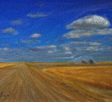 Wheat Skies by Dawn Davis