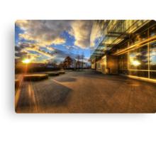 Sunset Squared Canvas Print