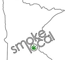 Smoke Local Weed in Minnesota (MN) by LaCaDesigns