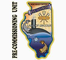SSN-786 USS Illinois Pre-commissioning Unit Crest Unisex T-Shirt