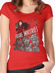 Future Industries Women's Fitted Scoop T-Shirt