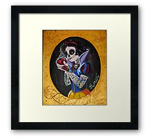 Poisoned Princess Framed Print