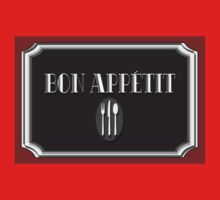 Bon Appétit Art Deco Style Sign Kids Clothes