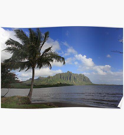 Oahu Hawaii Windward Side Poster