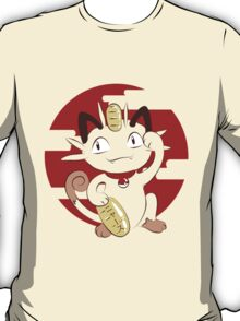 Lucky Meowth. T-Shirt