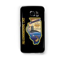 SSN-786 USS Illinois Pre-commissioning Unit Crest for Dark Colors Samsung Galaxy Case/Skin