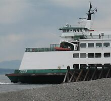 Outbound Ferry by EvansKelly