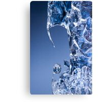 Project: Eavestrough Icicles. Canvas Print