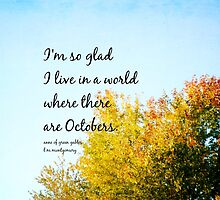 Anne Green Gables October by Kimberose