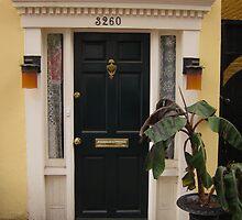 Doorway in Georgetown, D.C. by corrado