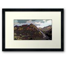 Highlands landscape Framed Print