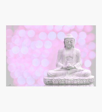 buddha lights (light red) Photographic Print