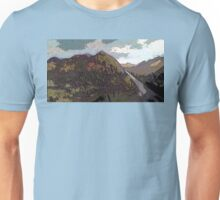 Highlands landscape Unisex T-Shirt