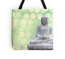 buddha lights (green) Tote Bag