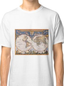 Vintage Map of The World (1662) Classic T-Shirt