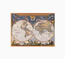 Vintage Map of The World (1662) T-Shirt