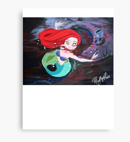 Ariel's Awakening Canvas Print