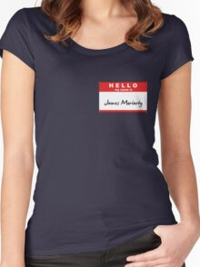 My Name is James Moriarty Women's Fitted Scoop T-Shirt