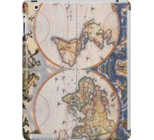 Vintage Map of The World (1662) iPad Case/Skin