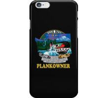 SSN-787 Plank Owner Crest for Dark Colors iPhone Case/Skin