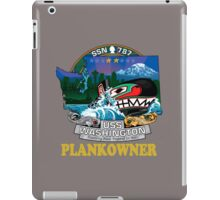 SSN-787 Plank Owner Crest for Dark Colors iPad Case/Skin