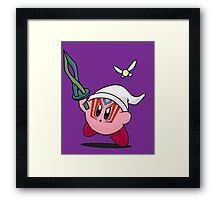 Kirby the Other World Hero Framed Print