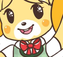 Isabelle at your Service! Sticker