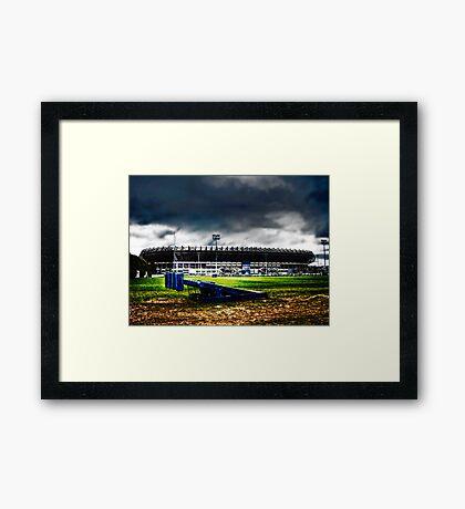 Murrayfield Stadium, Edinburgh, Scotland Framed Print