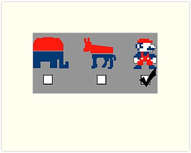 Vote for the Mario Party by cudatron