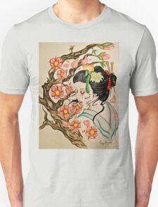 Zombie Geisha 1 Unisex T-Shirt